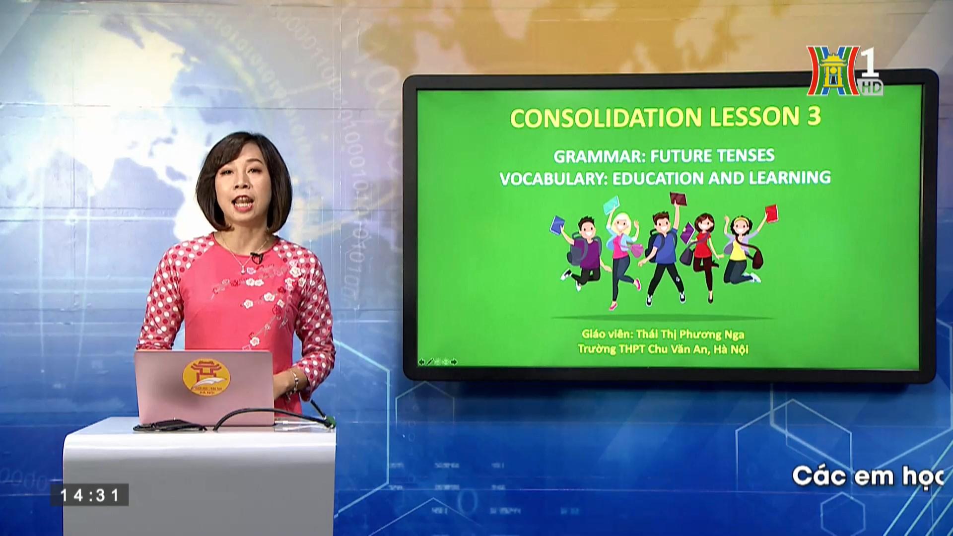 Ôn tập chuyên đề 3: Future tenses Topic Education and learning