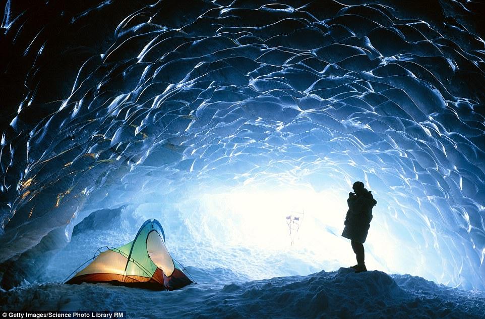 khu cắm trại băng  Pemberton, British Columbia, Canada