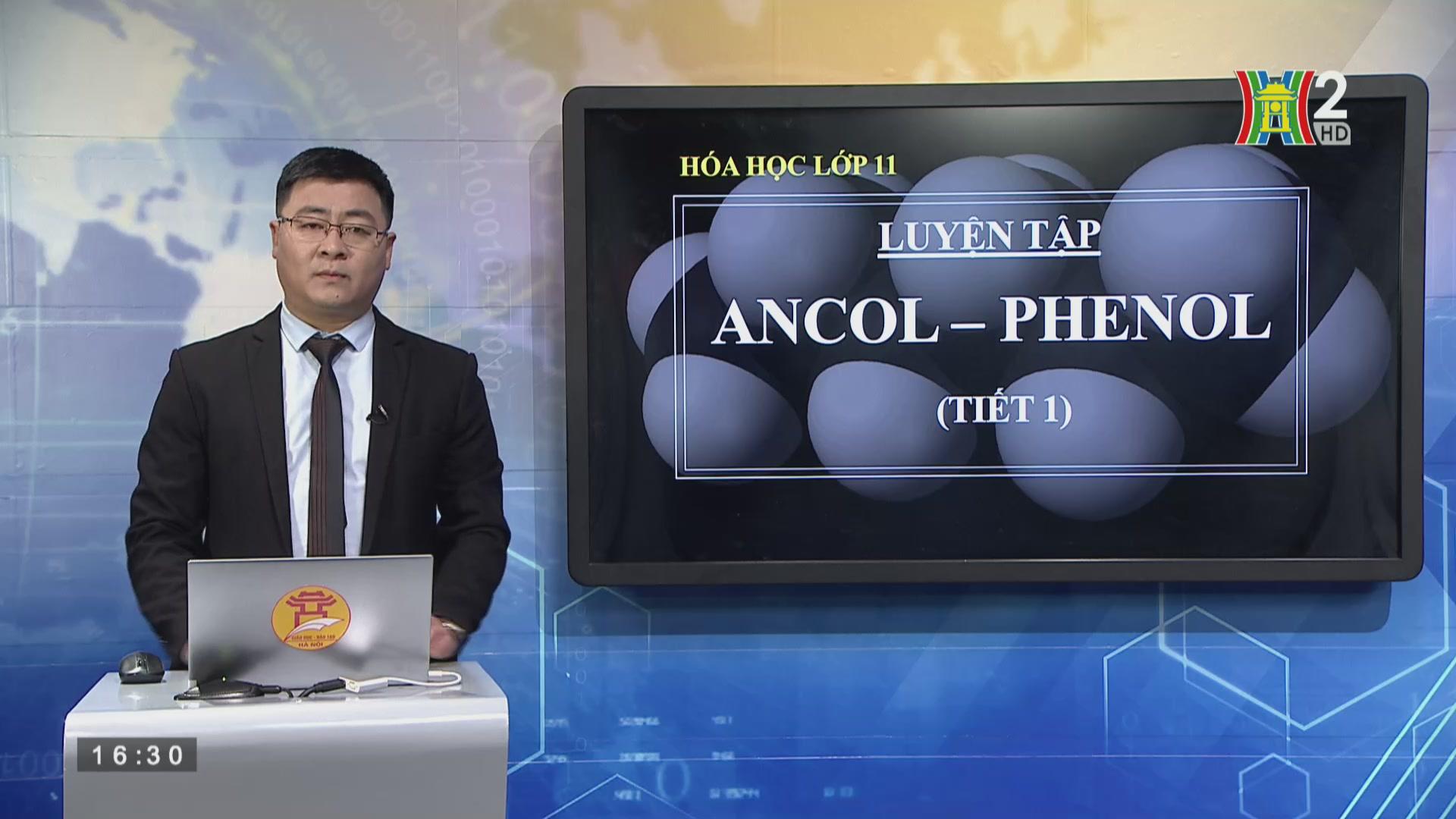 Bài 42 : Luyện tập : Dẫn xuất halogen, ancol, phenol (Tiết 1)