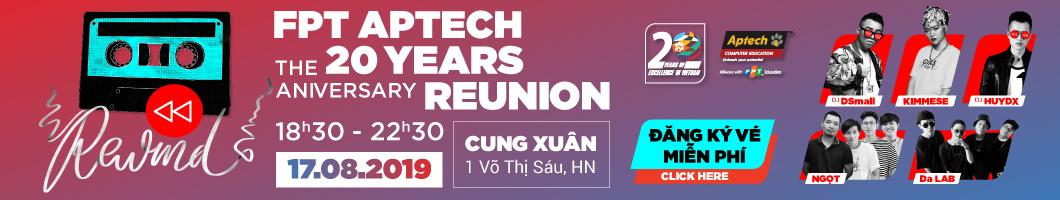 FPT aptech kỷ niệm 20 năm