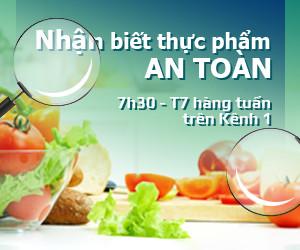 nhận biết thực phẩm an toàn