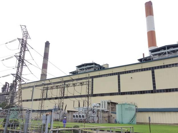 Nhà máy Nhiệt điện Phả Lại ở trên đất Hải Dương bị người dân Bắc Giang và Bắc Ninh phàn nàn. Ảnh:baoxaydung.com.vn