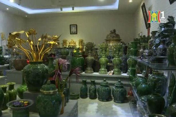 Gia tài gốm cổ phục chế của nghệ nhân nhân dân Trần Độ
