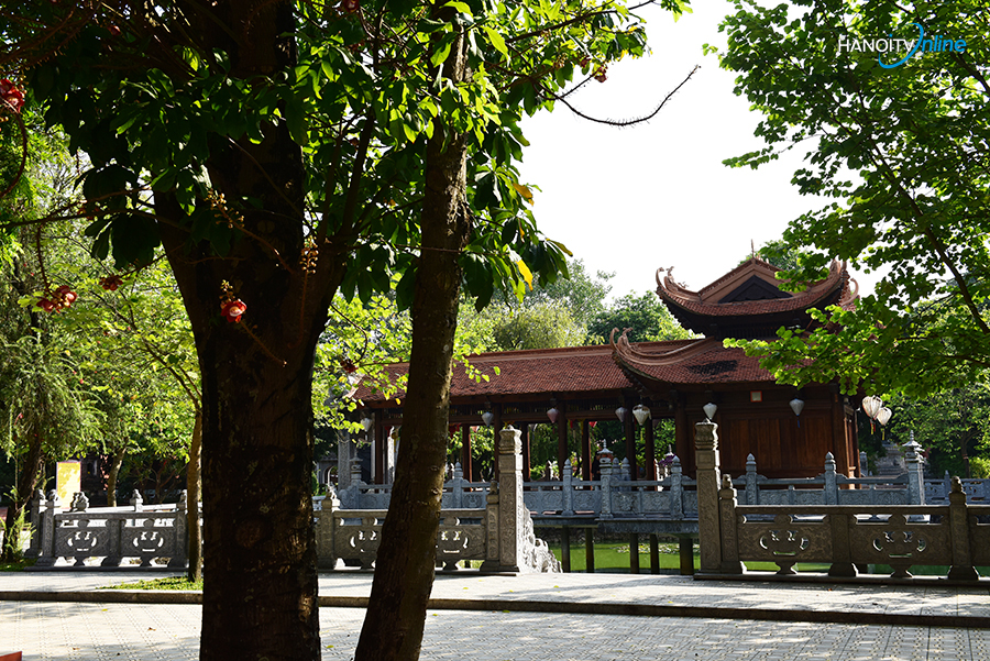 Nét cổ kính của ngôi chùa