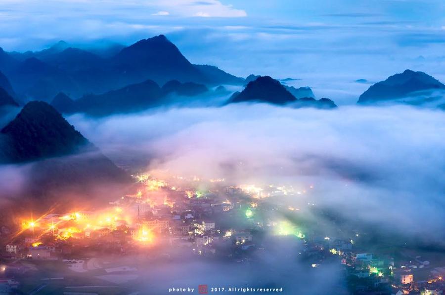 Chinh phục đỉnh Nà Lay, ngắm Bắc Sơn trong mây